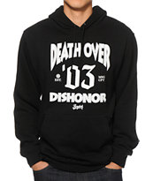 Acrylick Death Over Dishonor Hoodie