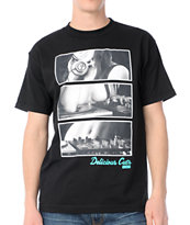 Acrylick Delicious Cuts Black Tee Shirt