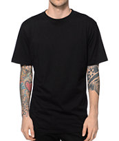 Acrylick Hi Low Drop Tail T-Shirt