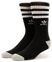 Adidas Originals Black & White Crew Socks