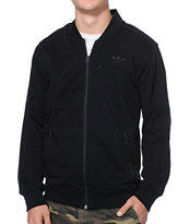 Adidas Team Black Zip Up Track Jacket
