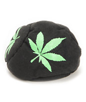Adventure Imports Green Leaf Green & Black 5 Panel Hacky Sack
