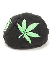 Adventure Imports Green Leaf Green & Black 5 Panel Hacky Sack