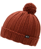 Airblaster Girls Radigal Picante Red Pom Fold Beanie