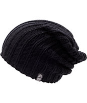 Airblaster Girls Snuggler Black Beanie