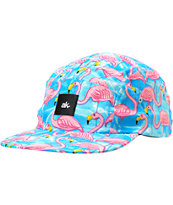 Akomplice Flamingo Pink & Blue 5-Panel Hat