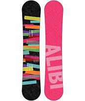 Alibi Escape 144cm Women's Reverse Camber Snowboard