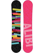 Alibi Escape 148cm Women's Reverse Camber Snowboard