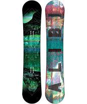 Alibi Motive 156cm Wide Reverse Camber Snowboard