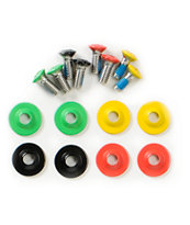 Alibi Snowboards Rasta Base Screws
