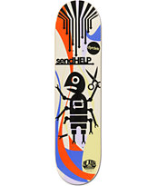 Alien Workshop Dyrdek Send Help 7.87 Skateboard Deck