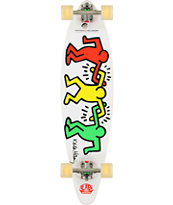 Alien Workshop Haring Link Up 38 Pin Tail Longboard Complete