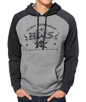 Alien Workshop Saga Heather Grey & Black Pullover Hoodie