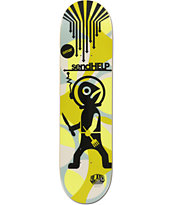 Alien Workshop Salazar Send Help 8.12 Skateboard Deck