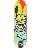 Alien Workshop Salazar Sketchbook Hexmark 8.12 Skateboard Deck