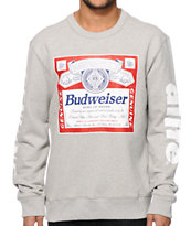 Alife x Budweiser Label Crew Neck Sweatshirt