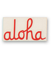 All Of The Above Aloha Die Cut Sticker