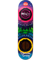 Almost Daewon Song Tie Dye Impact Support 2.0 7.75 Skateboard Deck