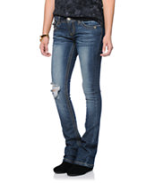 Almost Famous Addy Dark Wash Bootcut Jeans