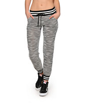 Almost Famous Athletic Stripe Jogger Pants