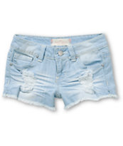 Almost Famous Gracie Crochet Pocket Shorts