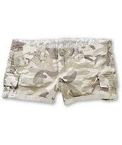 Almost Famous Khaki Camo Cargo Shorts