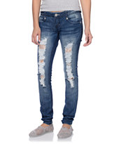 Almost Famous Linds Dark Wash Skinny Jeans