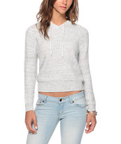 Almost Famous Marled Hooded Sweater