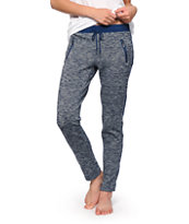 Almost Famous Navy Speckle Jogger Pants