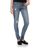 Almost Famous Penelope Light Wash Skinny Jeans