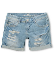 Almost Famous Riley Medium Wash Denim Shorts