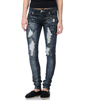 Almost Famous Veronica Bling Skinny Jeans