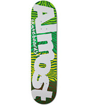"Almost Green Stripes 7.75"" Skateboard Deck"