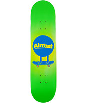 "Almost Mo Fades 7.75"" Skateboard Deck"