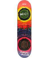 Almost Mullen Tie Dye Impact Support 7.6 Skateboard Deck