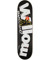 "Almost Willow Berlin Bear 8.1"" Double Impact Skateboard Deck"