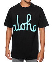 Aloha Army Aloha Black Tee Shirt