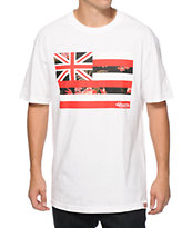 Aloha Army HI Pride Boba Flag Floral T-Shirt