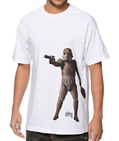 Aloha Army Tiki Trooper White Tee Shirt