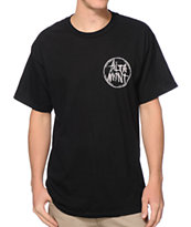 Altamont Marked Black Tee Shirt