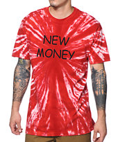 Altamont Recent Currency Tie Dye Tee Shirt