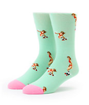Altamont Skatebirds Mint Crew Socks