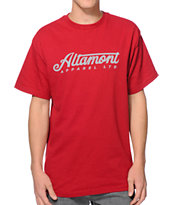 Altamont Supercharger Burgundy Tee Shirt
