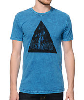 Altamont Triangulate Tie Dye Tee Shirt