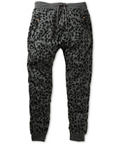 American Stitch Leopard Jogger Sweat Pants