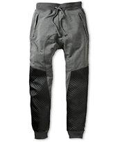 American Stitch Quilt Polyurethane Jogger Sweatpants
