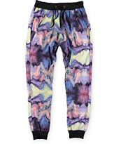 American Stitch Watercolor Ombre Sublimated Jogger Pants
