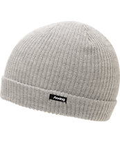 Analog Burglar Light Grey Fold Beanie