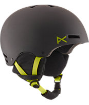 Anon Raider Black & Green Snowboard Helmet