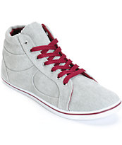 Antic Grey High Top Shoes